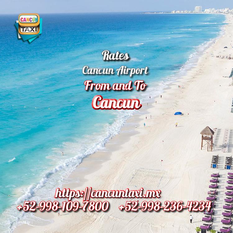 Cancun Airport transfer to Cancun Hotel Zone