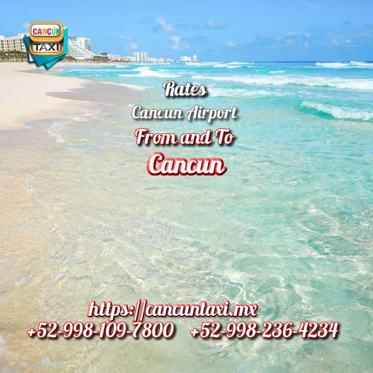 Cancun Airport transfer to Cancun Hotel Zone!